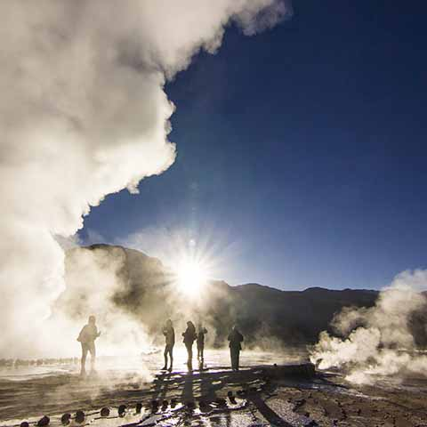 Foto Tatio geisers in Chili